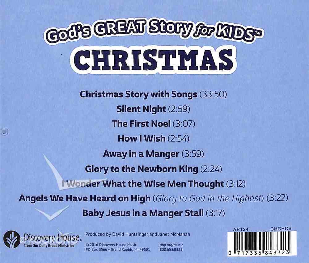 God's Great Story For Kids - Christmas CD