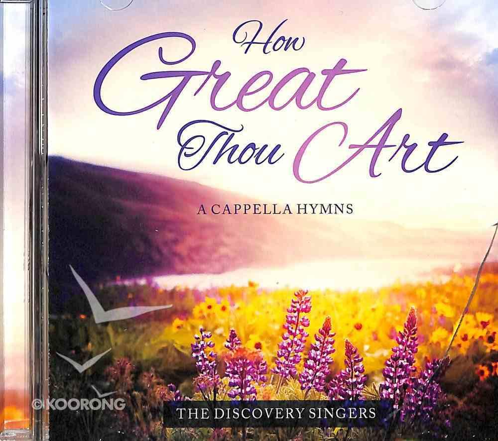 How Great Thou Art a Cappella CD