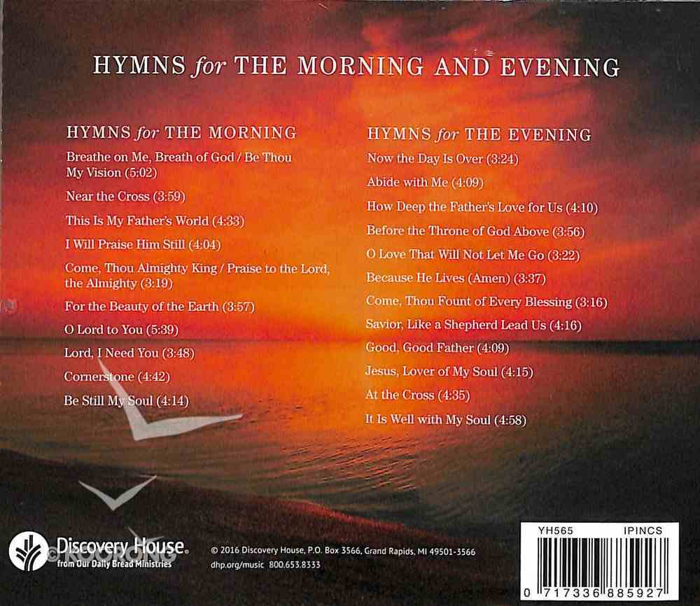 Hymns For the Morning and Evening CD