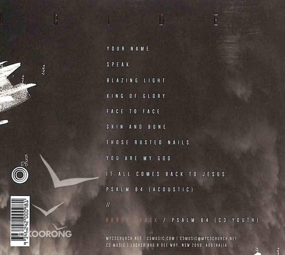 2016 Abide CD