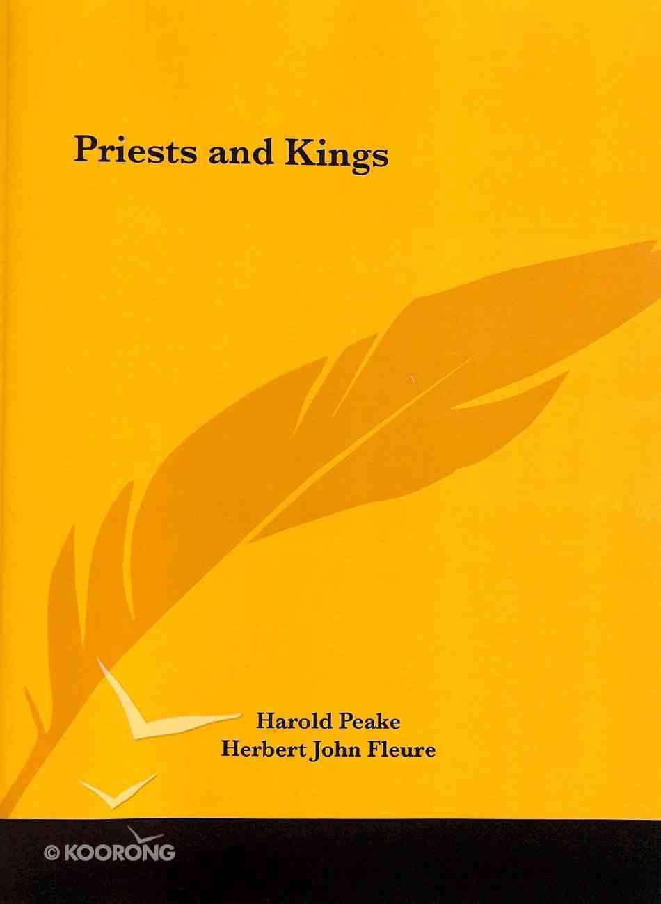 Priests and Kings Paperback