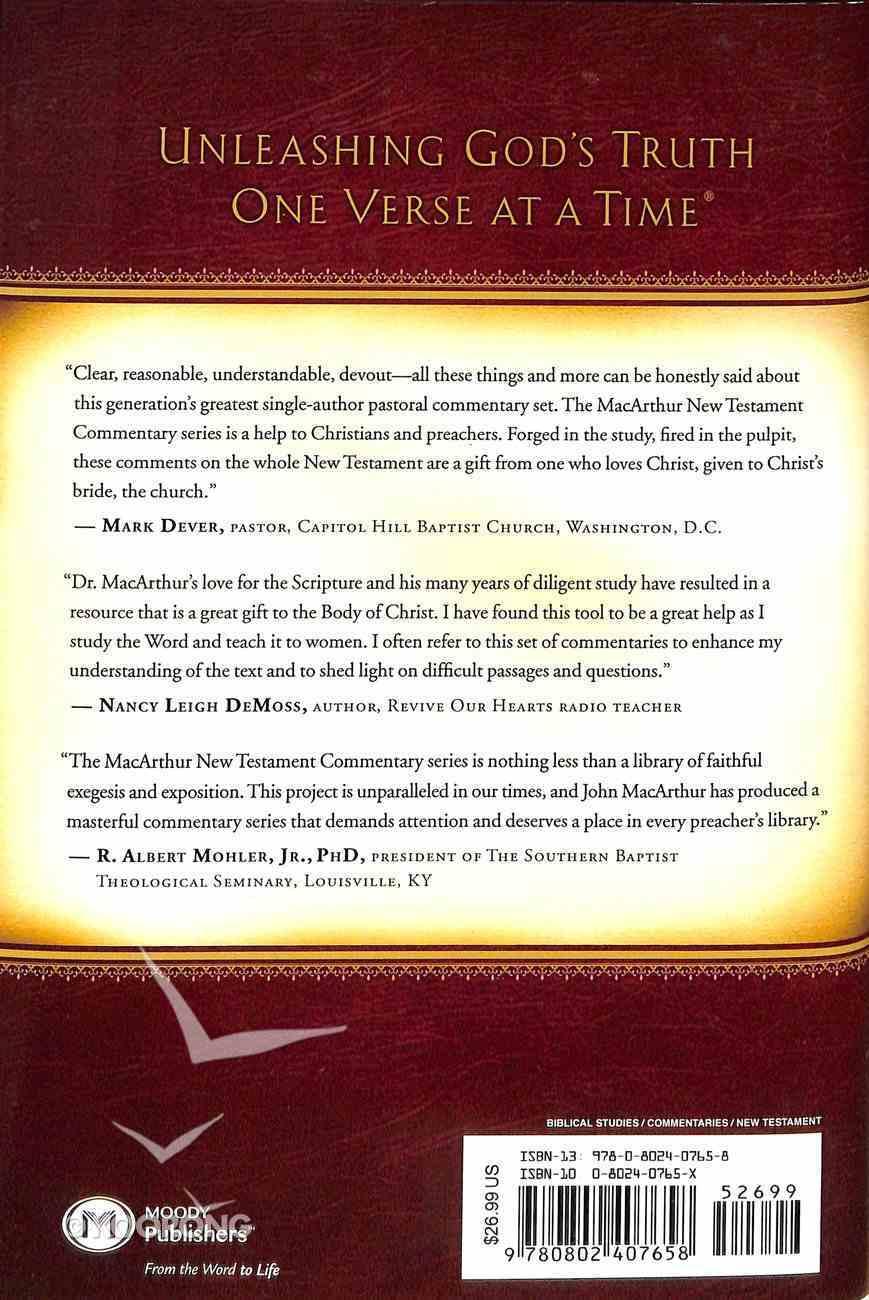 Matthew 24-28 (Macarthur New Testament Commentary Series) Hardback