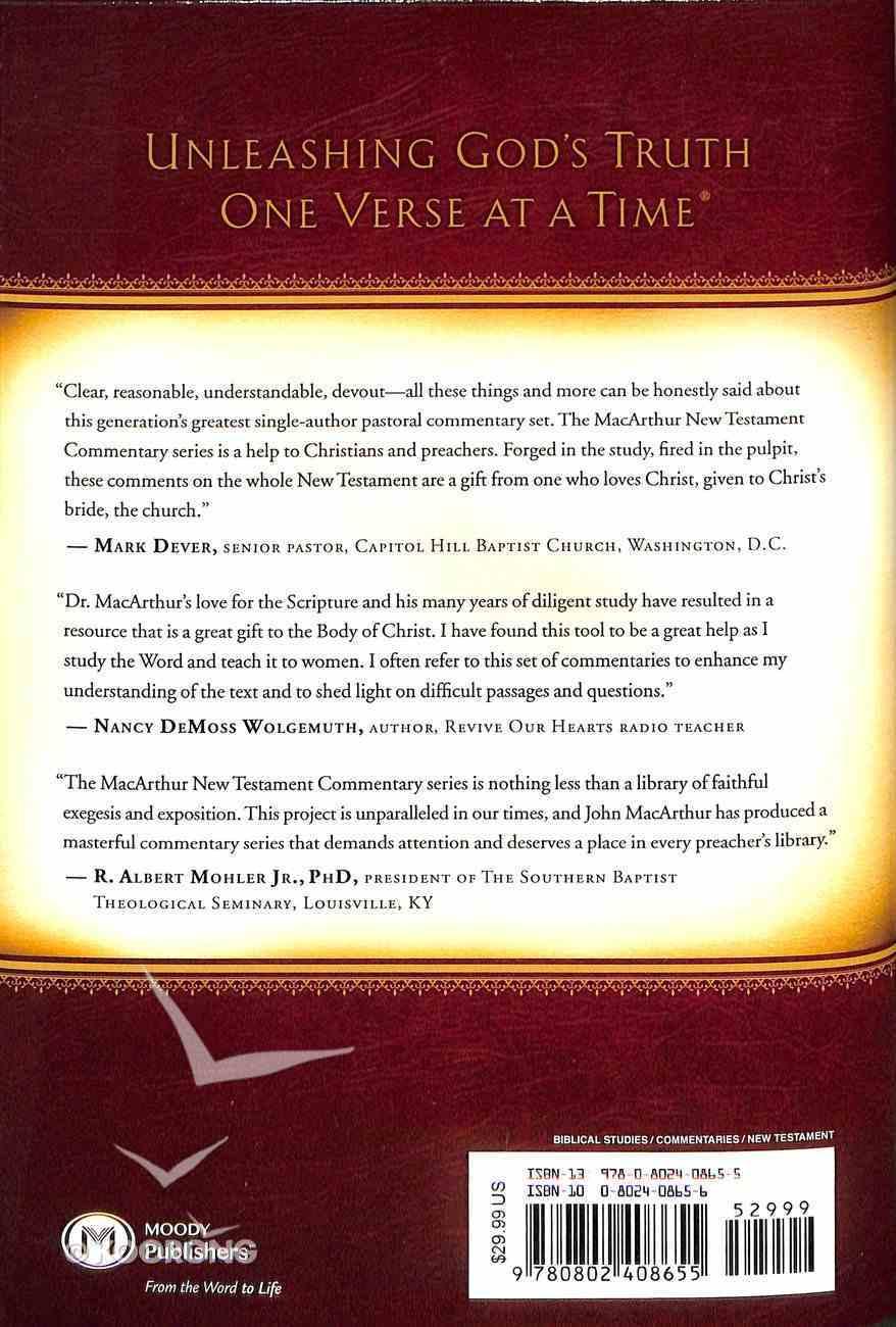 2 Corinthians (Macarthur New Testament Commentary Series) Hardback
