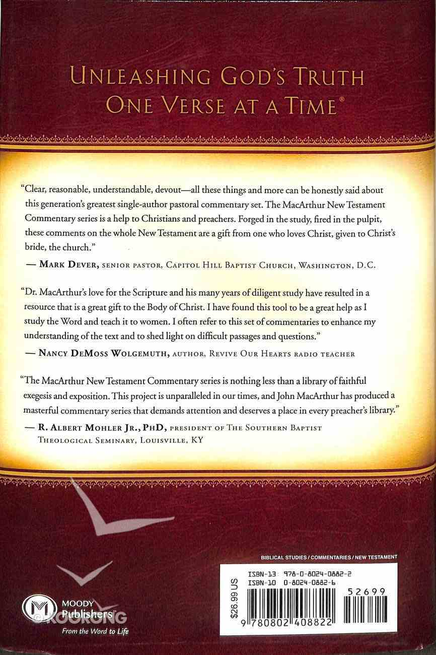1&2 Thessalonians (Macarthur New Testament Commentary Series) Hardback