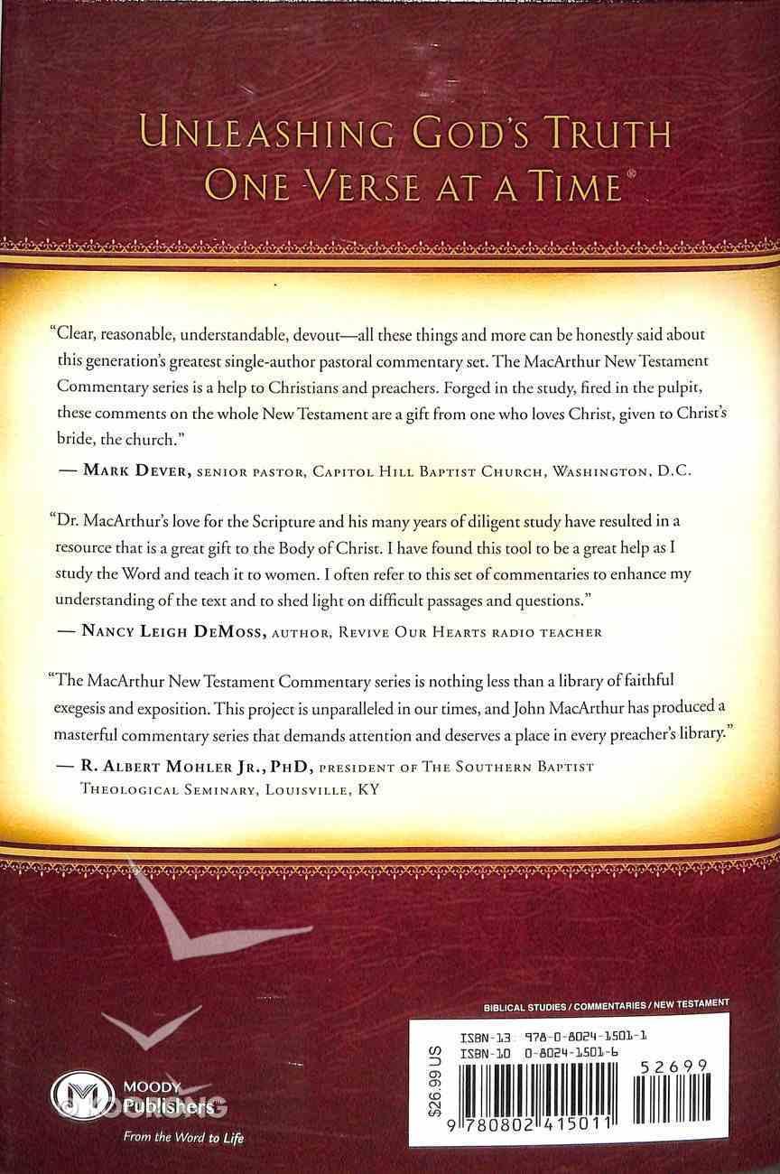 1 Peter (Macarthur New Testament Commentary Series) Hardback