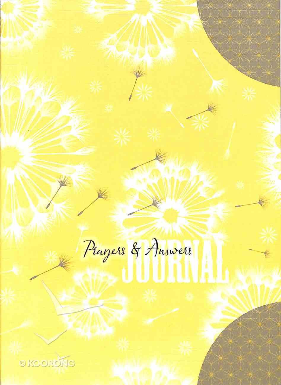 Notebook Journal: Prayers & Answers Hardback