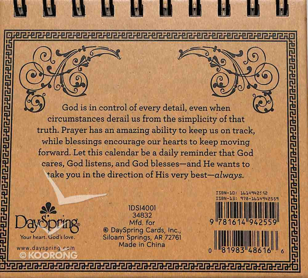 Daybrighteners: Prayers & Blessings (Padded Cover) (Large Print) Spiral