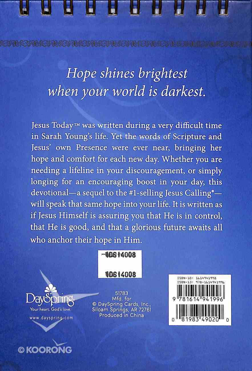 Large Daybrighteners: Jesus Today (Padded Cover) Spiral