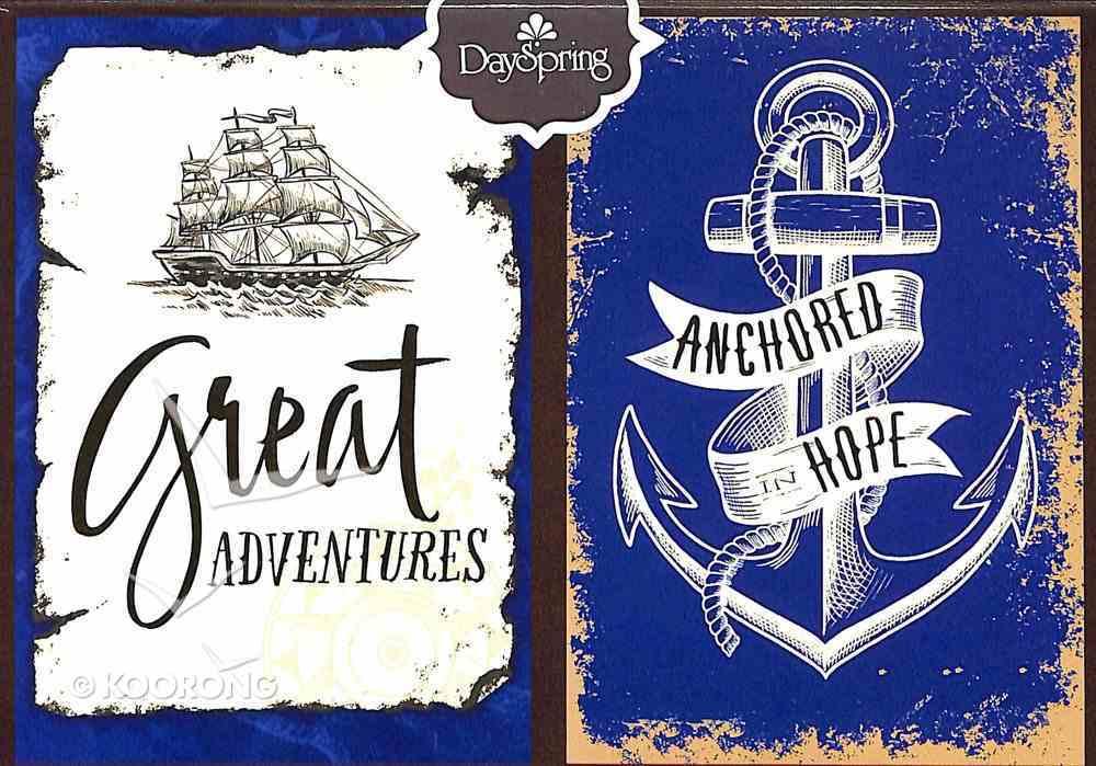 Premium Portfolio: Great Adventures (Sailing Ship/anchor) Stationery