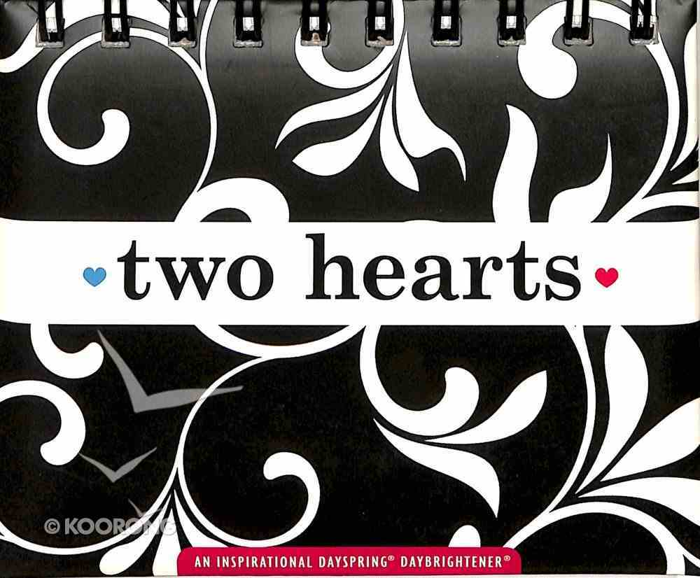 Daybrighteners: Two Hearts (Padded Cover) Spiral