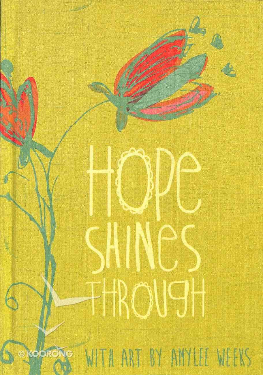 Journal: Hope Shines (Lime Bookcloth Cover) Hardback