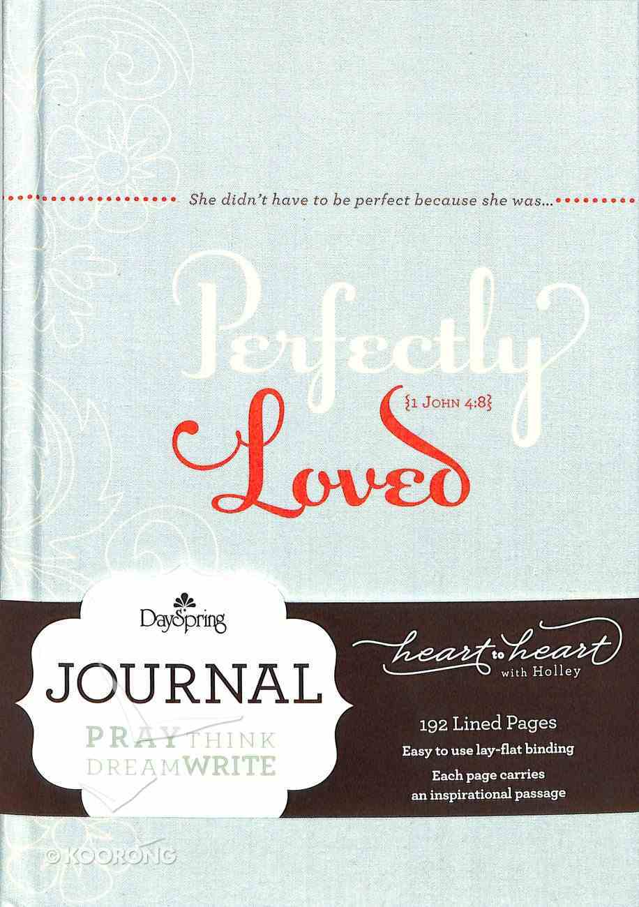 Journal: Perfectly Loved (Pail Blue Bookcloth Cover) Hardback