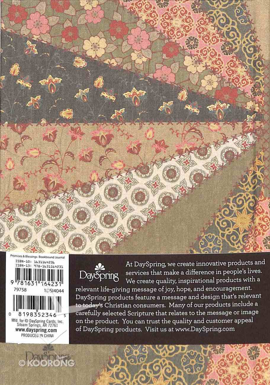 Journal: Promises & Blessings (Floral Bookcloth Cover) Hardback