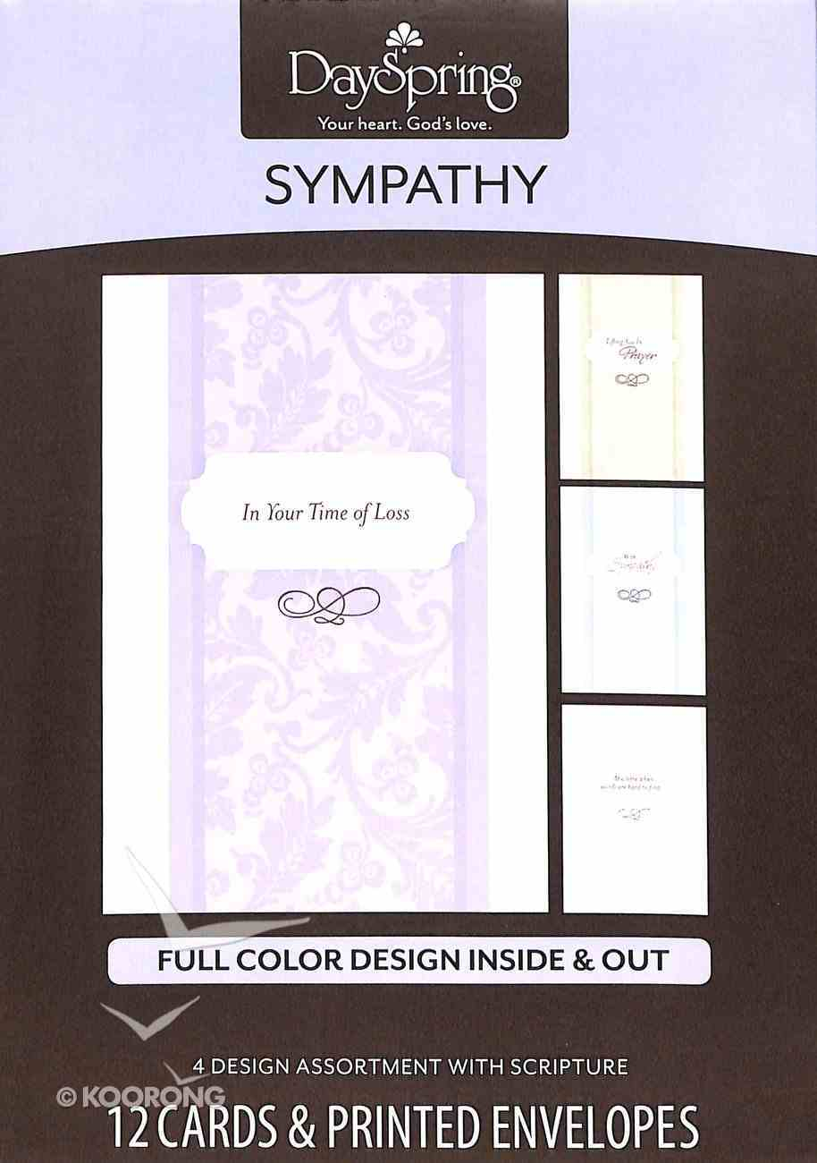 Boxed Cards Sympathy: Simple Sentiments Box