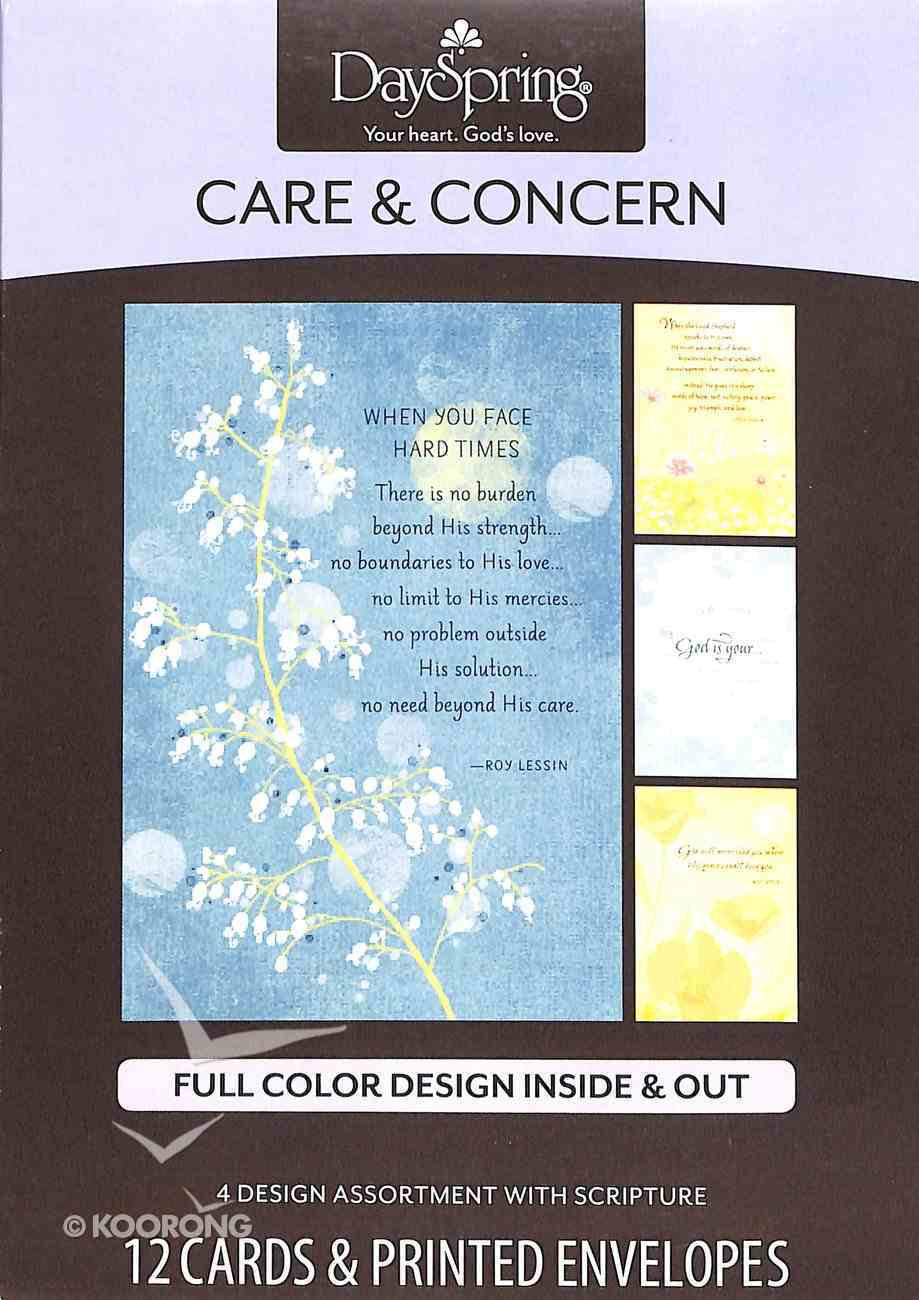 Boxed Cards Care & Concern: Roy Lessin Box
