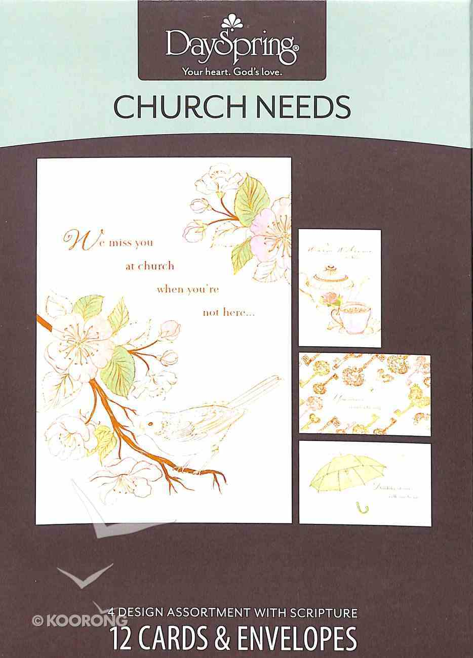 Boxed Cards Church Needs: Church Needs Box