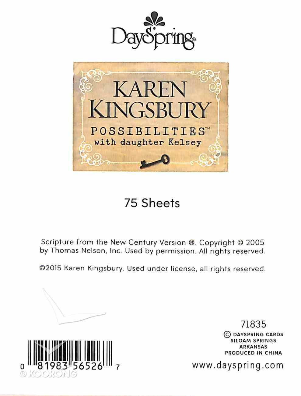 Purse Notes: Karen Kingsbury Possibilites Stationery