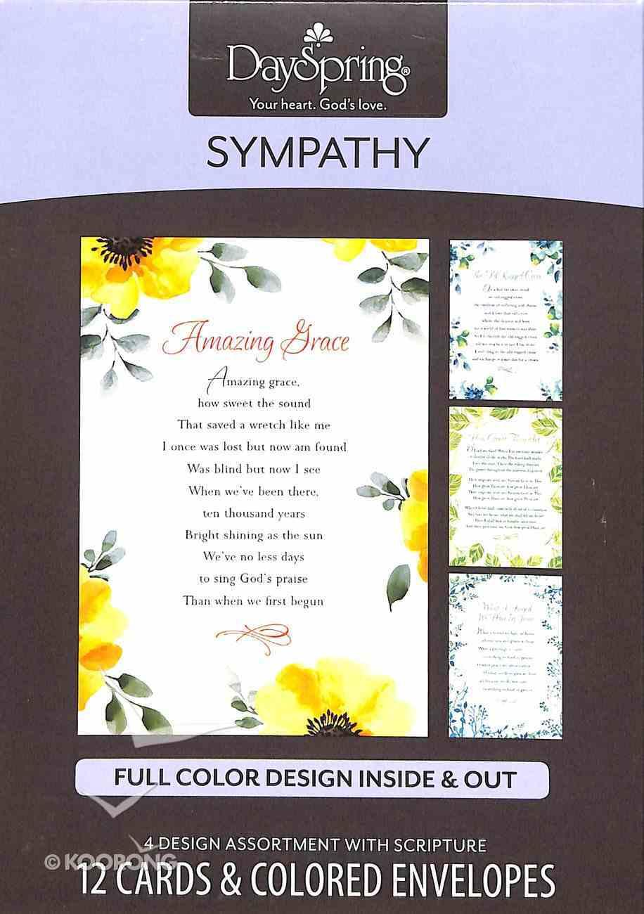 Boxed Cards Sympathy: Sympathy Hymns Box