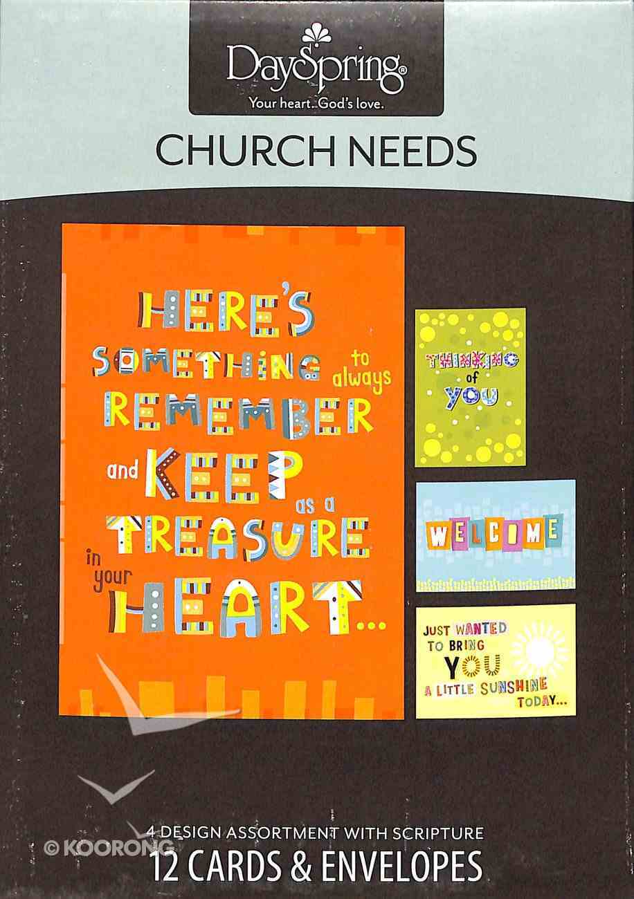 Boxed Cards Church Needs: Children Box