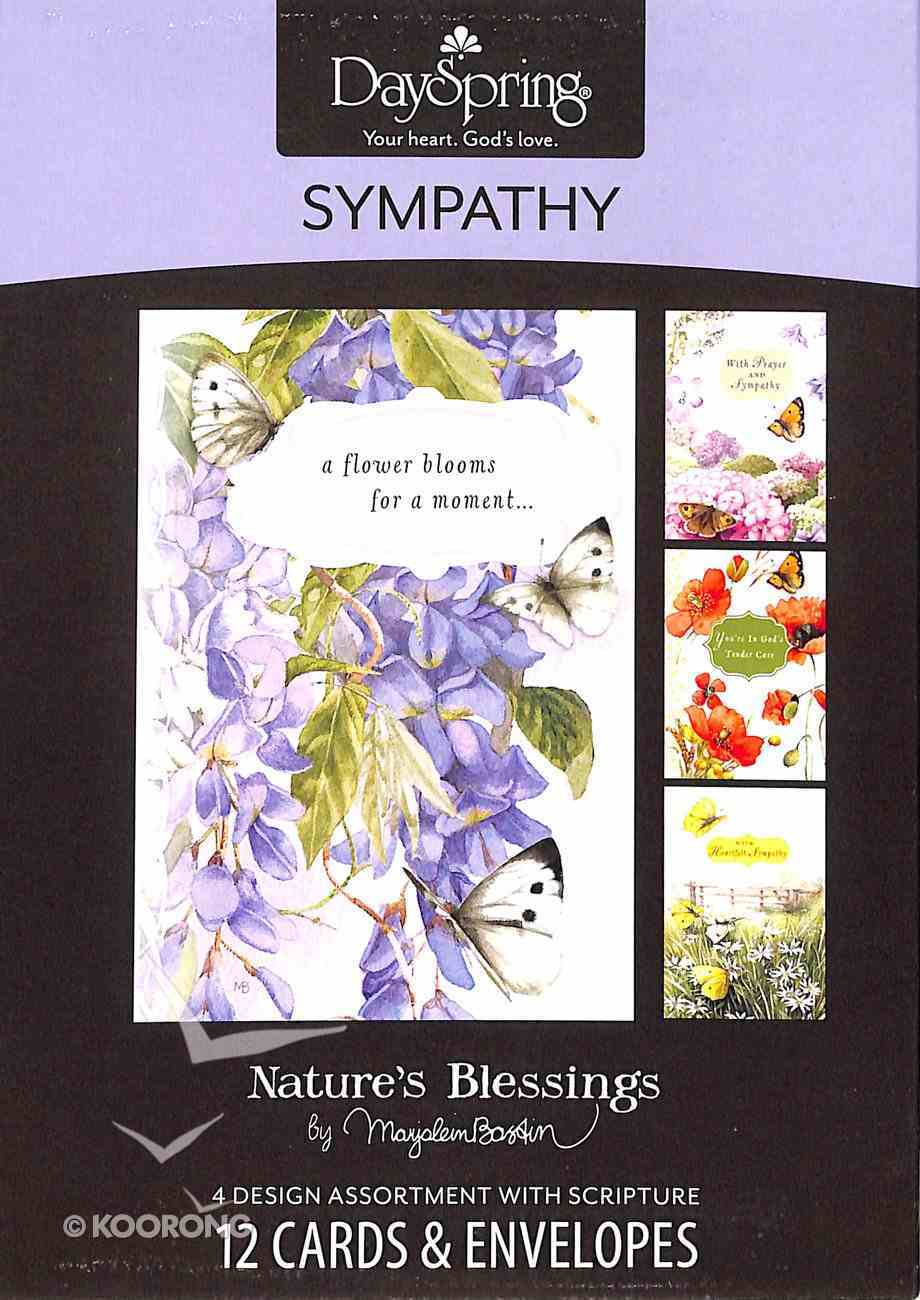 Boxed Cards Sympathy: Sympathy & Prayers By Marjolein Bastin Box