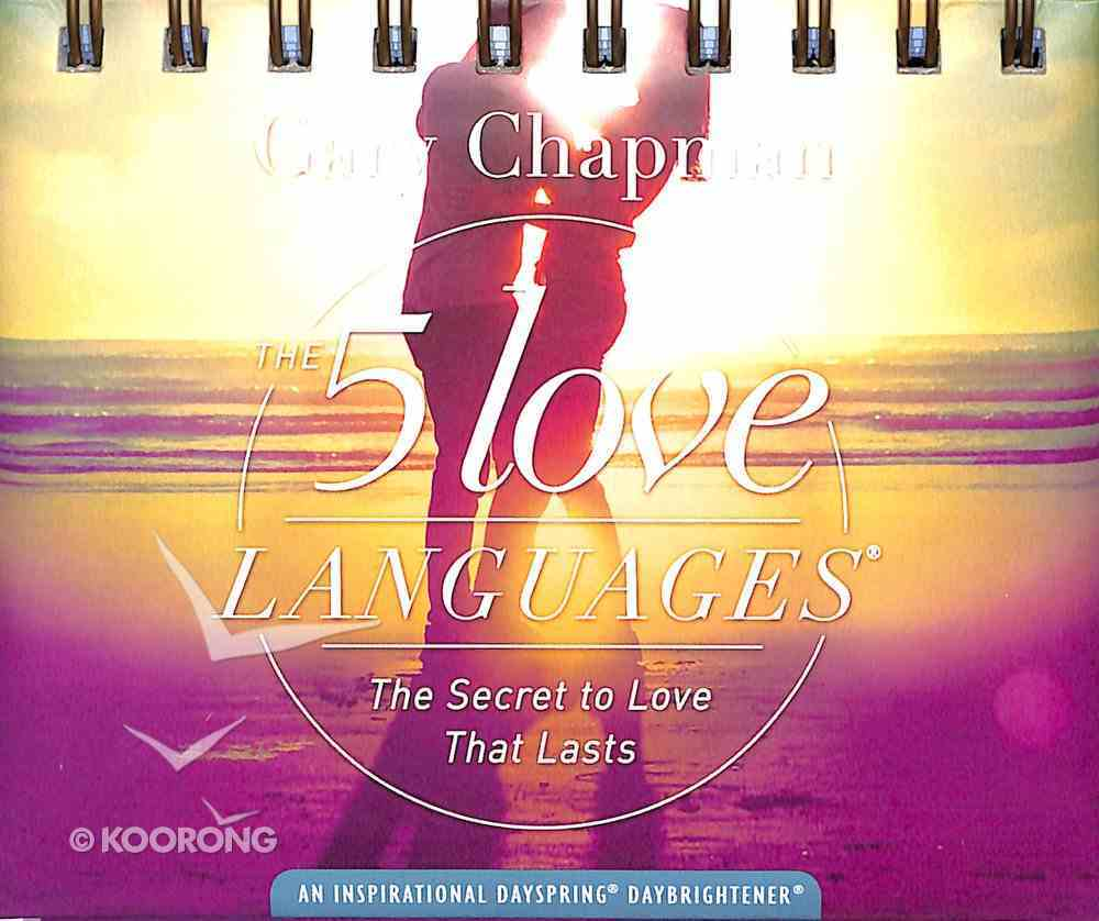 Daybrighteners: 5 Love Languages (Padded Cover) Spiral