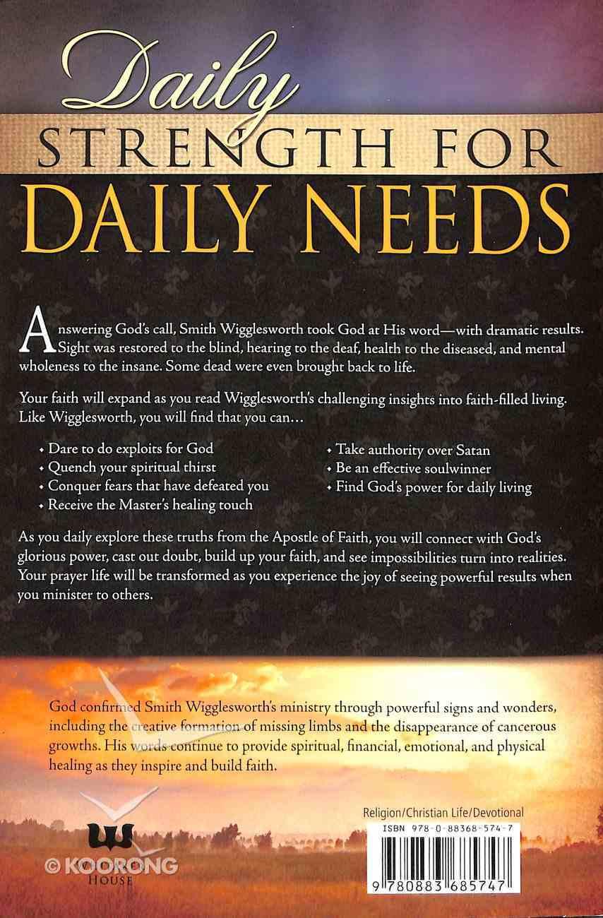 Smith Wigglesworth Devotional Paperback