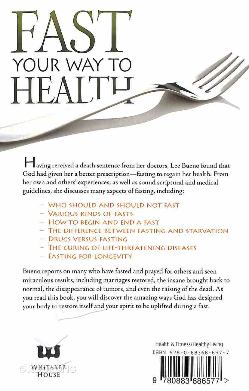 Fast Your Way to Health Paperback