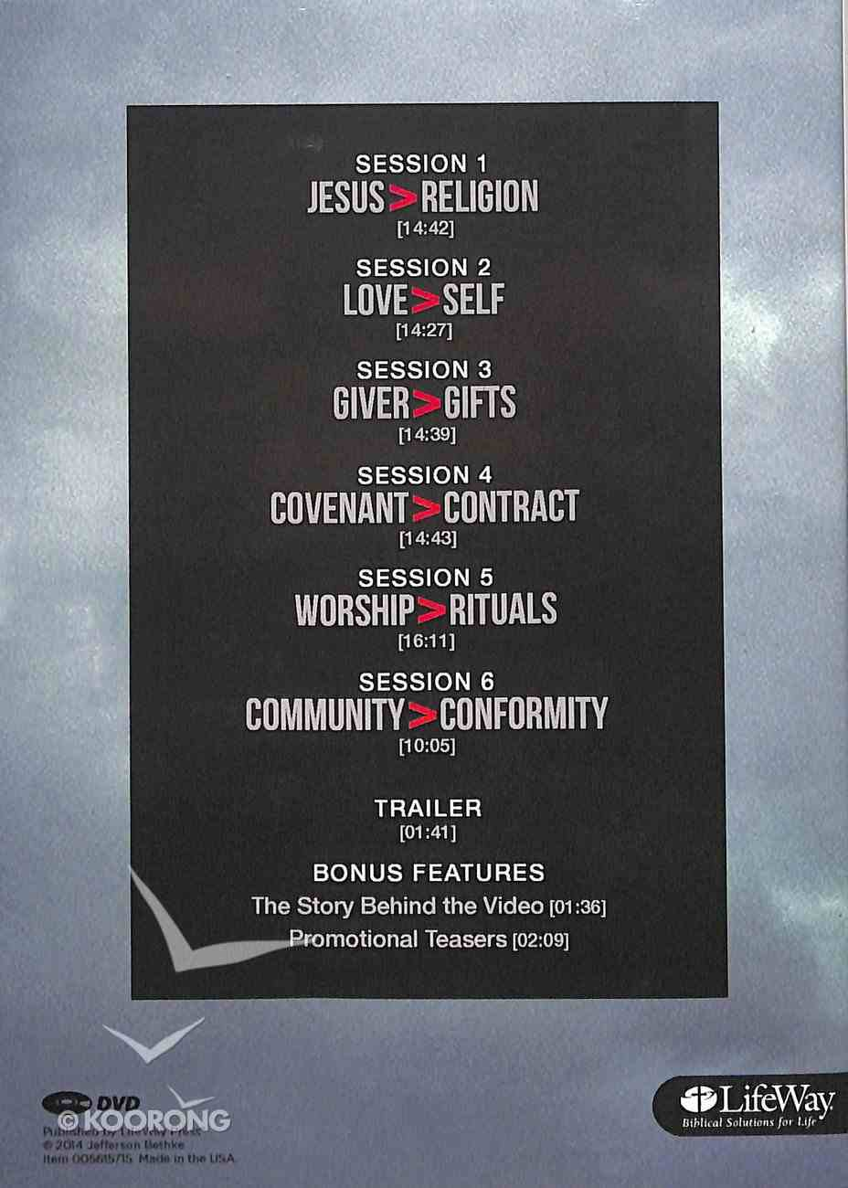 Jesus is Greater Than Religion (2 Dvds) (Dvd Set Only) DVD