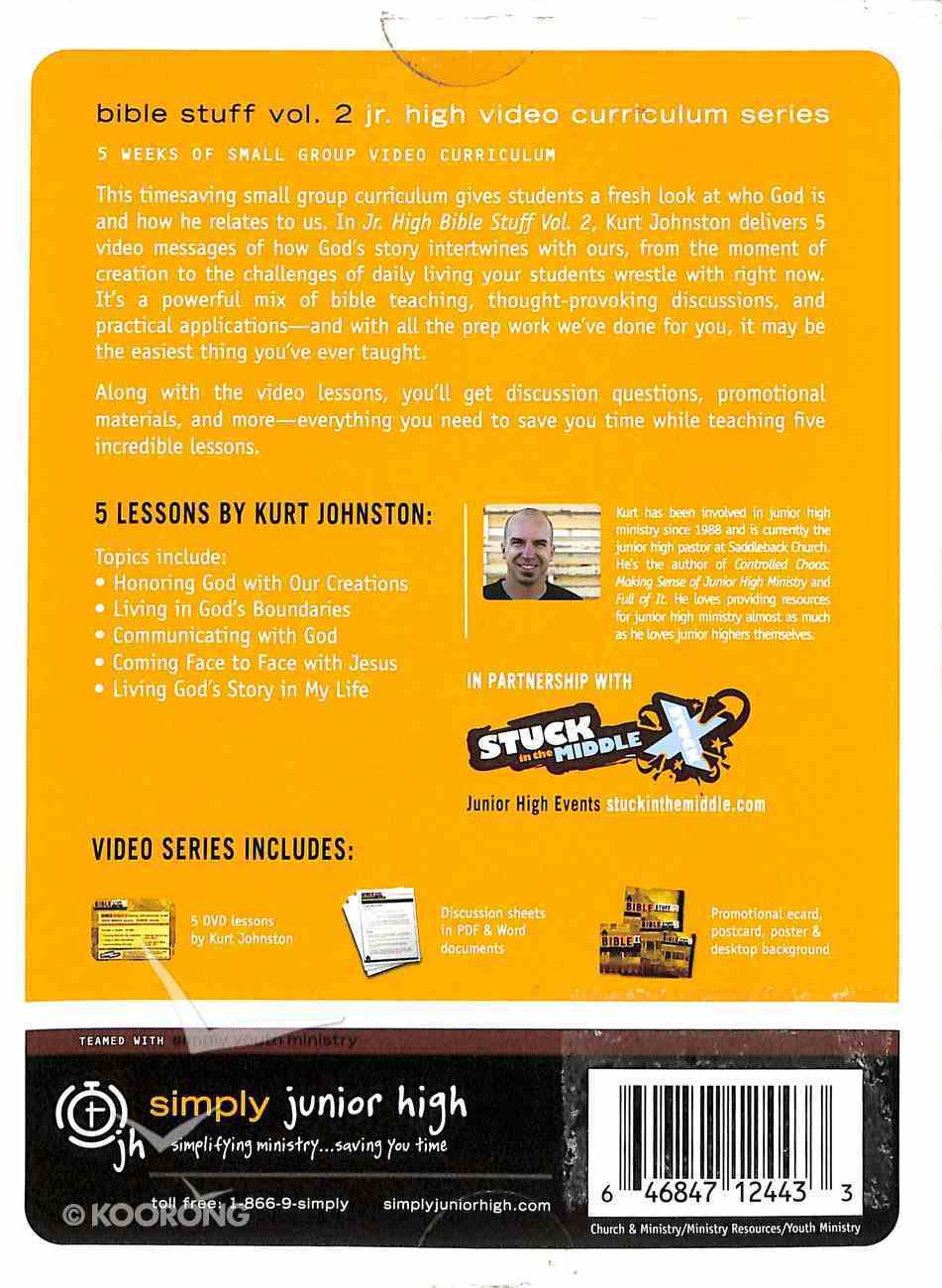 Junior High Bible Stuff #02: God's Story (#02 in Simply Youth Ministry Series) DVD