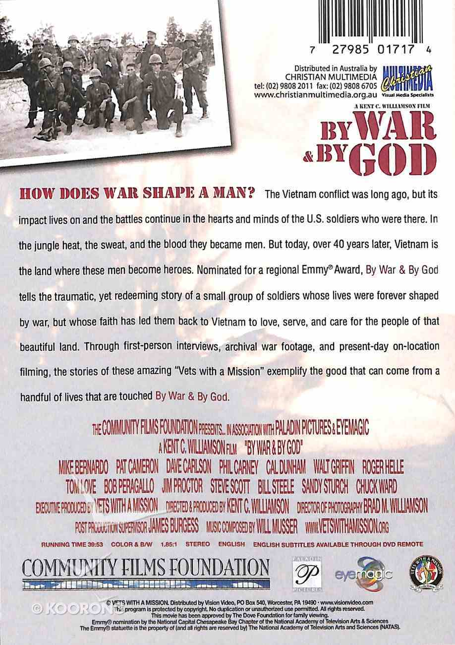 By War and By God DVD