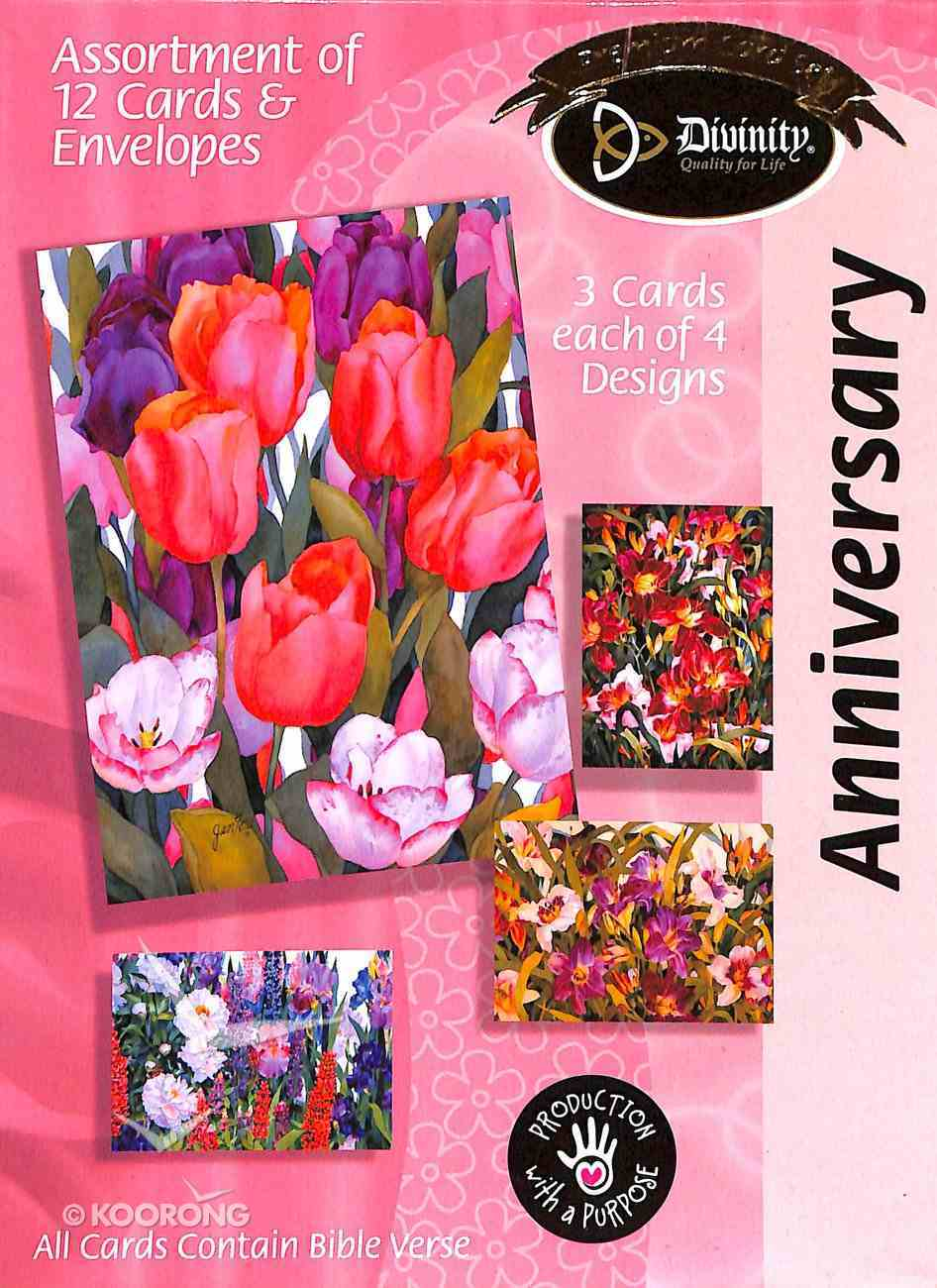 Boxed Cards Anniversary: Flowers Box