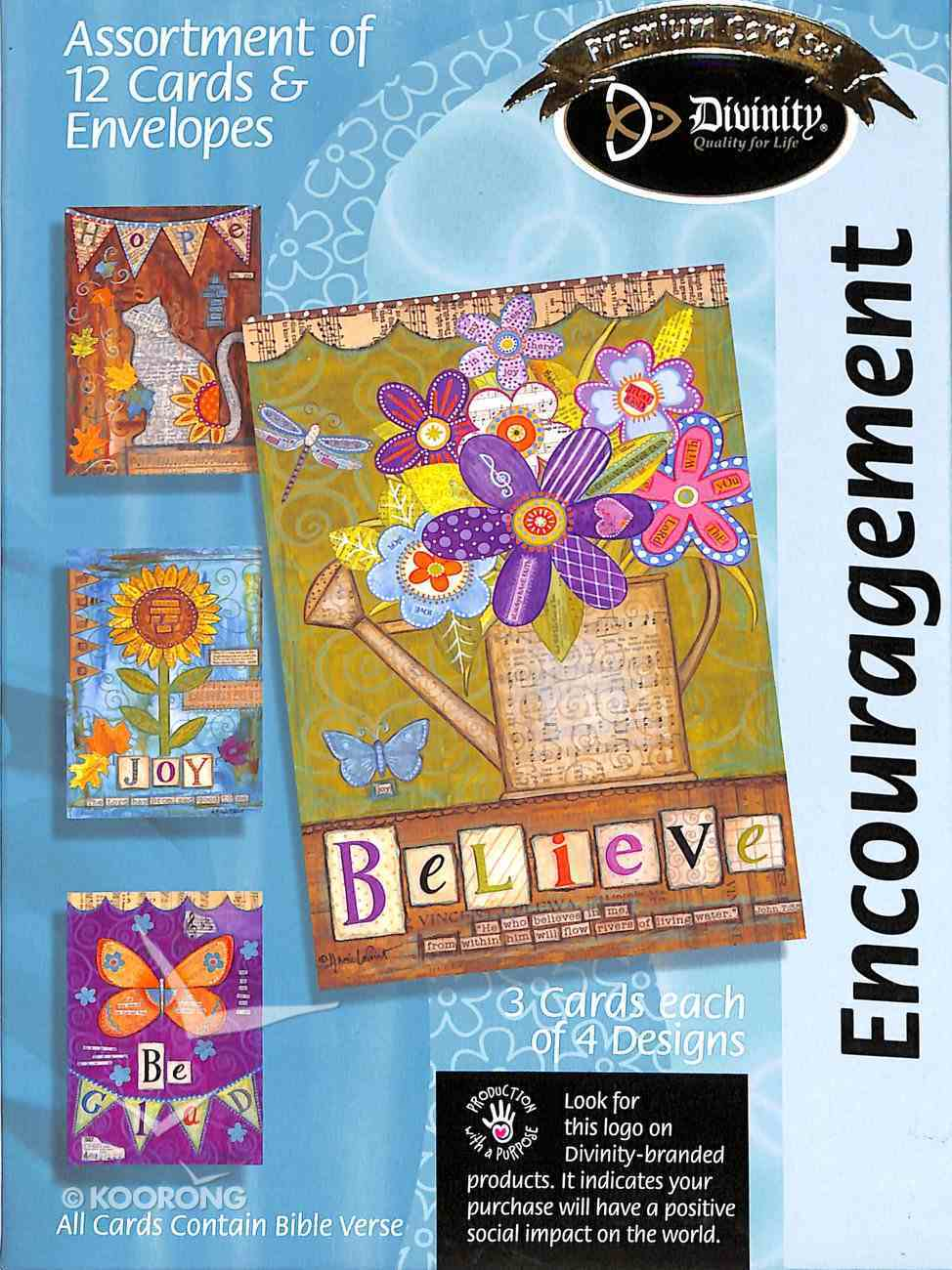Boxed Cards: Encouragment Box