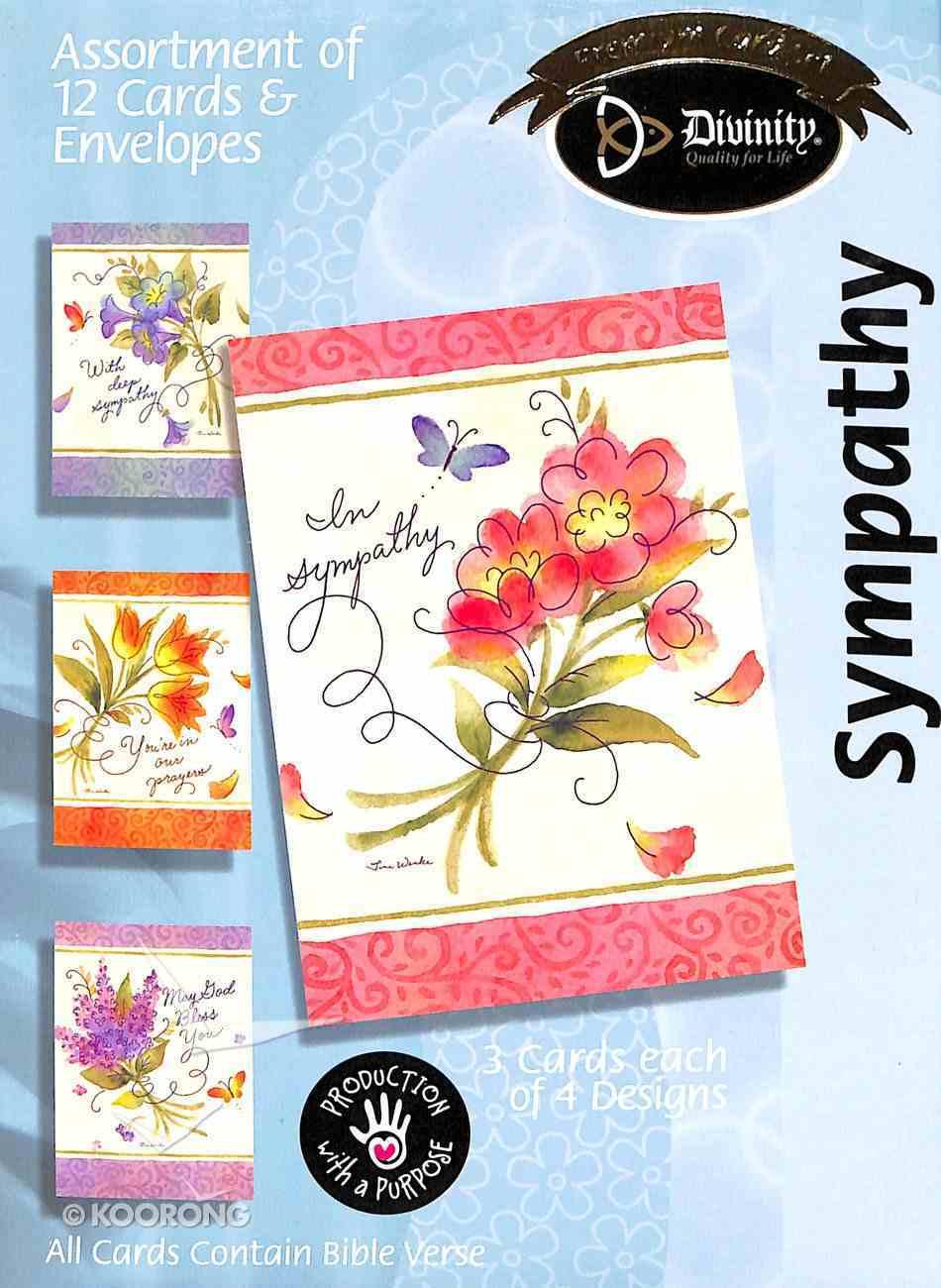 Boxed Cards Sympathy: Bouquets Box