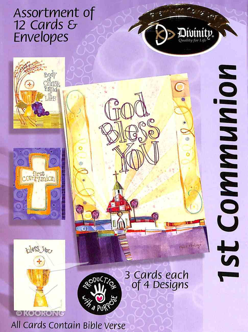 Boxed Cards: 1st Communion Box