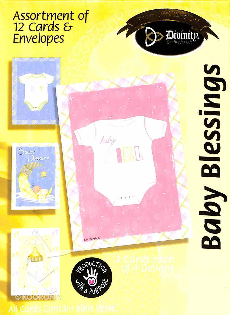 Boxed Cards: Baby Blessings Box
