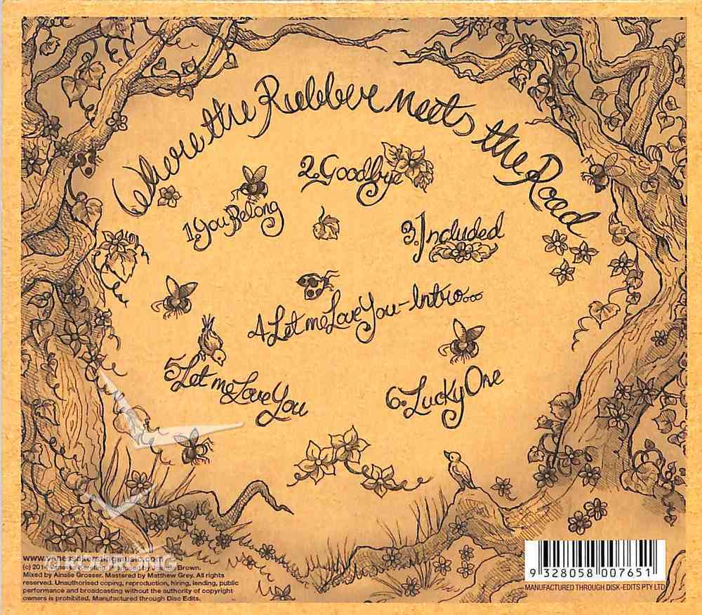 Where the Rubber Meets the Road Ep CD