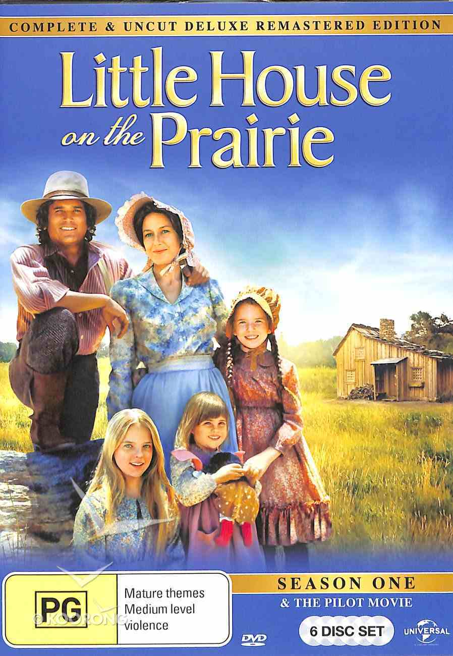 Season 1 (Digitally Remastered and Uncut) (6 DVDS) (#01 in Little House On The Prairie Series) DVD