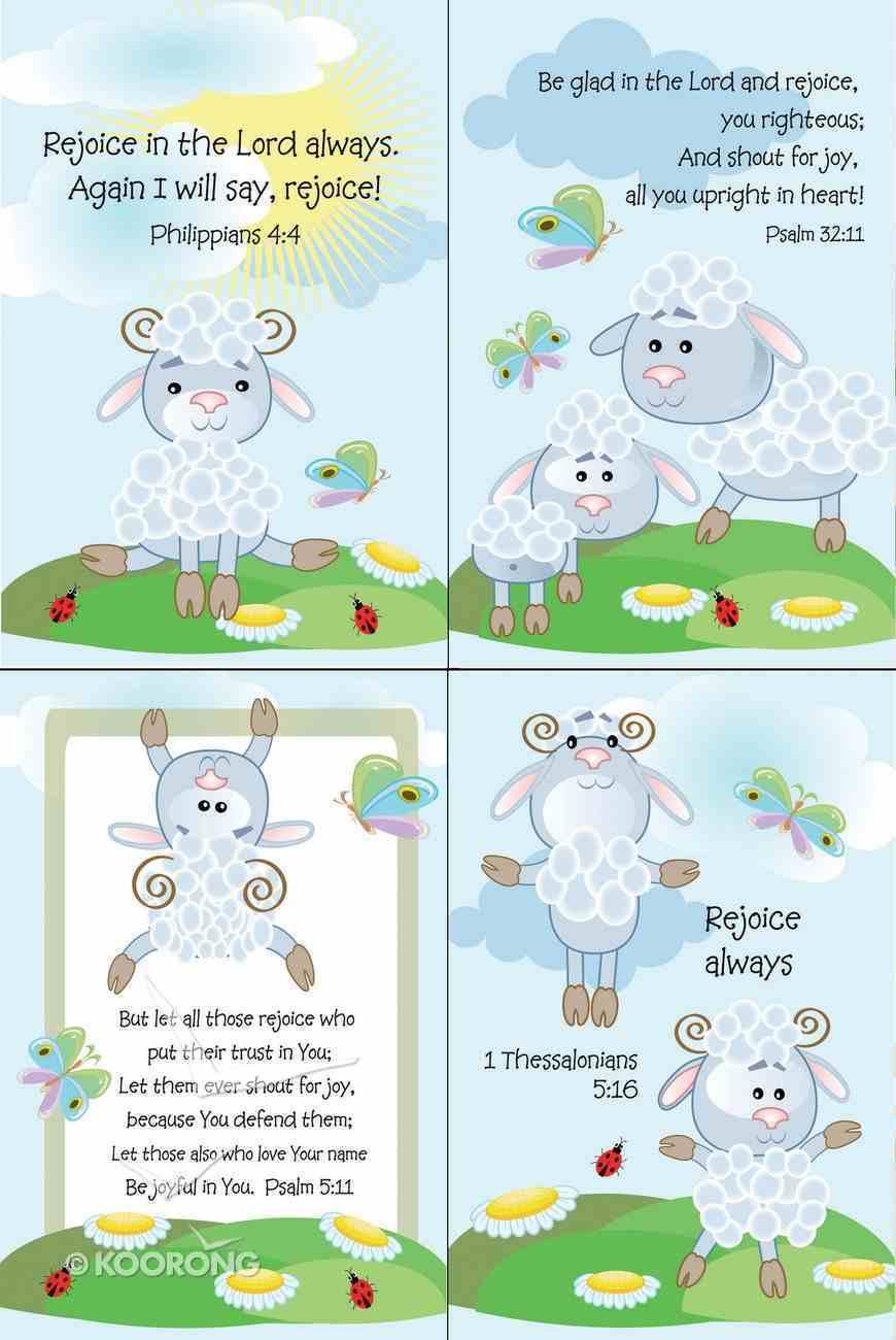 Notepad Set of 4: Lamb Series Stationery