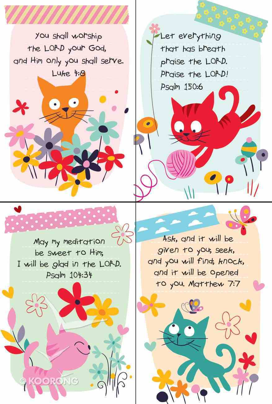 Notepad Set of 4: Cat Series Stationery