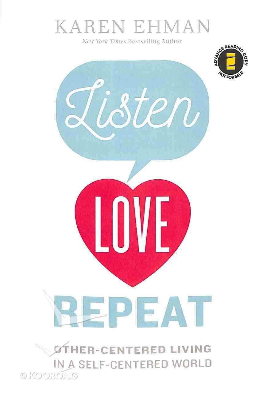 Listen, Love, Repeat Paperback