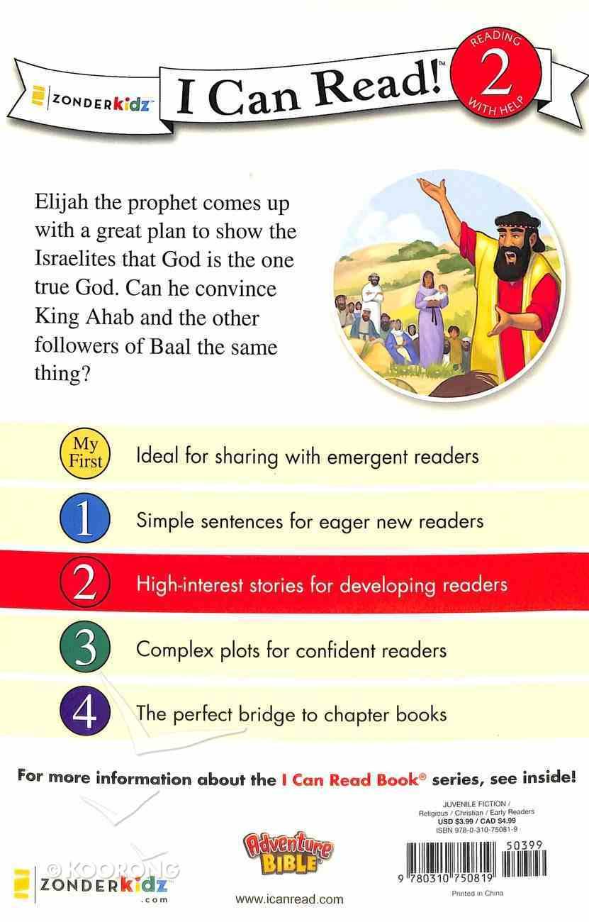 Elijah, God's Mighty Prophet (I Can Read!2/adventure Bible Series) Paperback