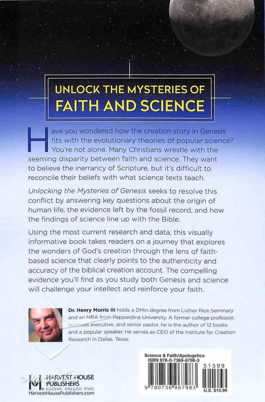 Unlocking the Mysteries of Genesis Paperback