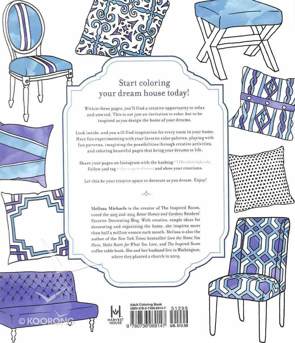 Creative Spaces to Decorate as You Dream (Adult Coloring Books Series) Paperback