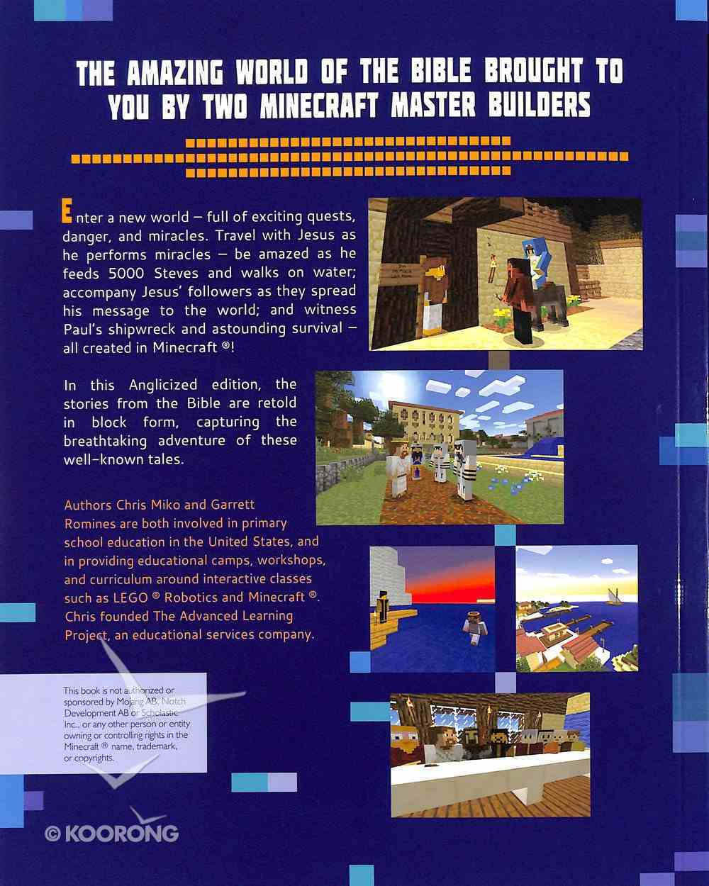 The Unofficial Bible For Minecrafters (2 Volumes) Paperback