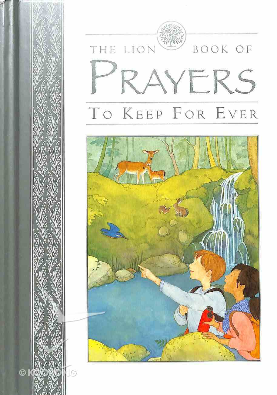 The Lion Book of Prayers to Keep For Ever Board Book