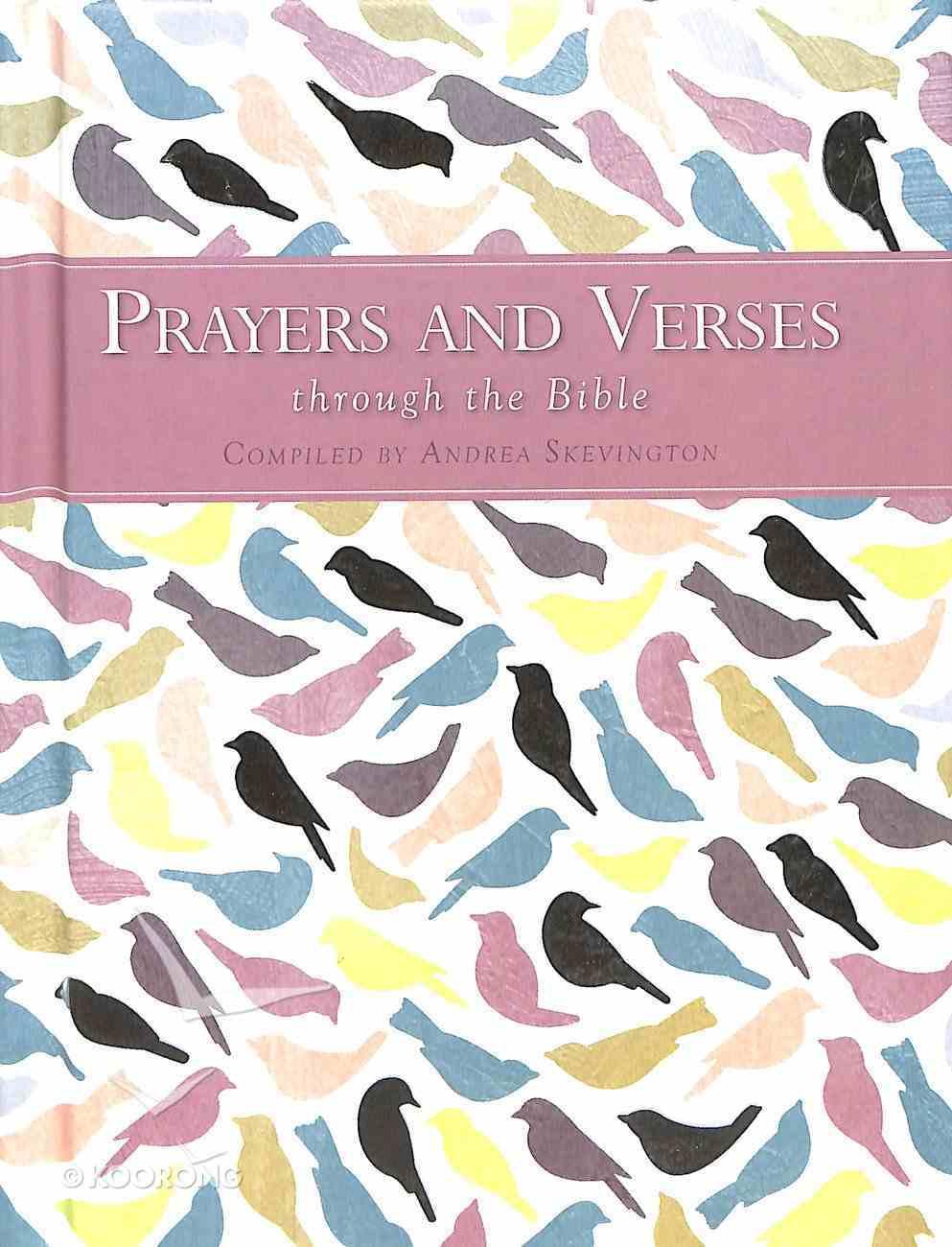 Prayers and Verses Through the Bible Hardback