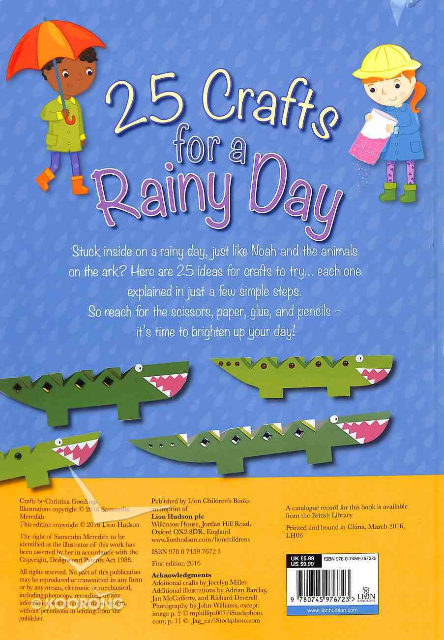 25 Crafts For a Rainy Day Hardback
