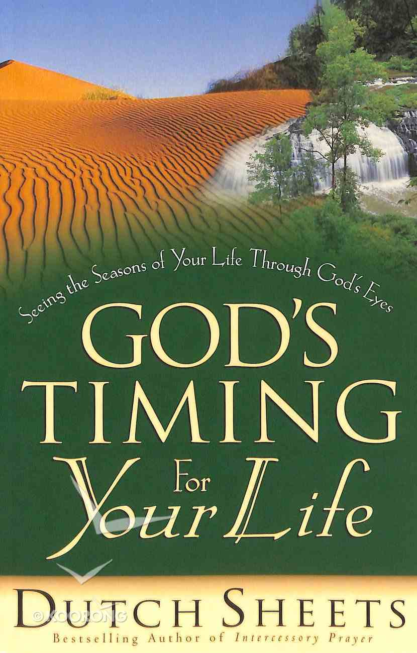 God's Timing For Your Life (Life Points Series) Paperback