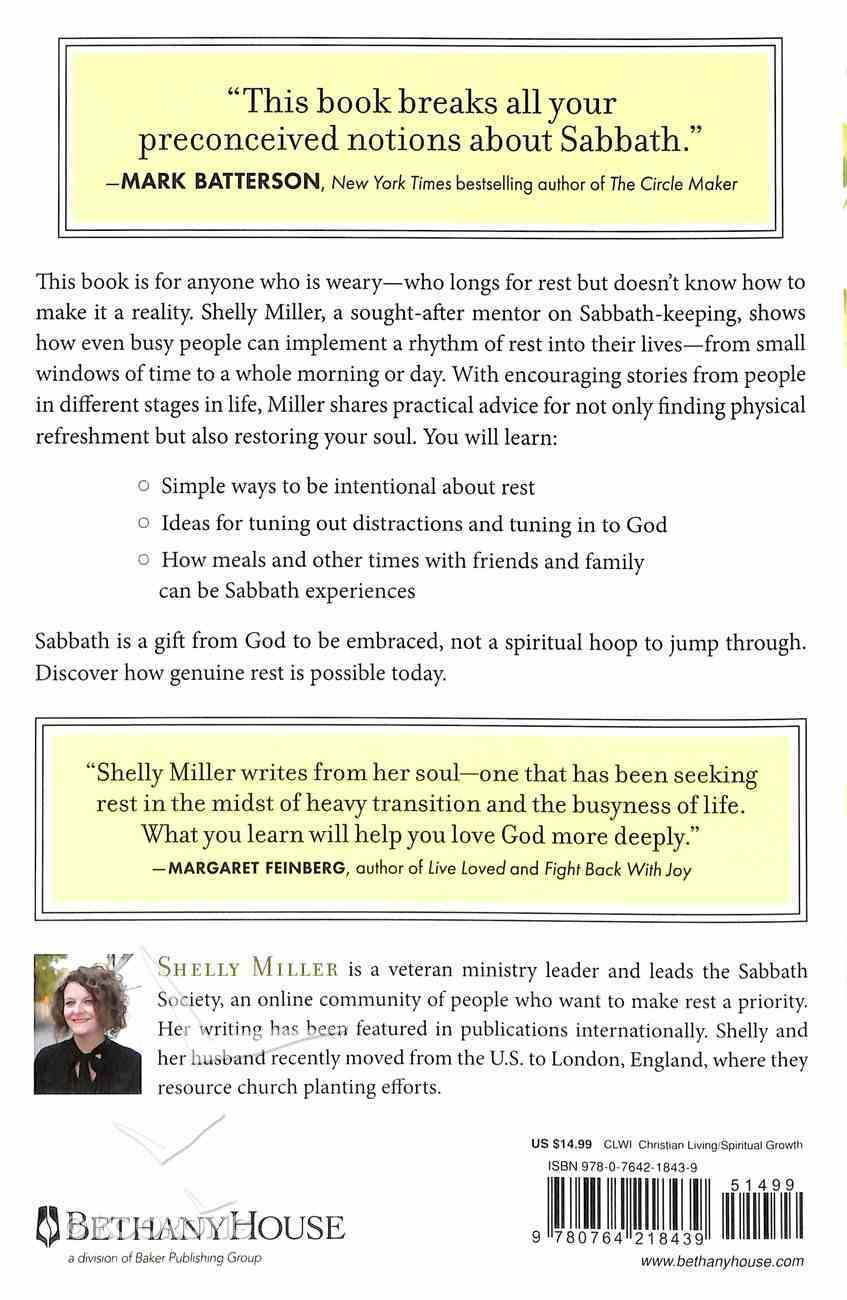 Rhythms of Rest: Finding the Spirit of Sabbath in a Busy World Paperback