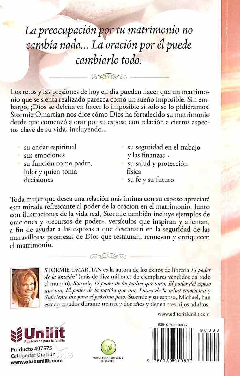 El Poder De La Esposa Que Ora (The Power Of A Praying Wife) Paperback